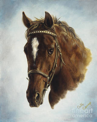 Painting - The Jumper by Cathy Cleveland