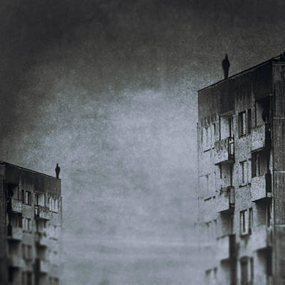Alienation Photograph - The Jumper by Art of Invi