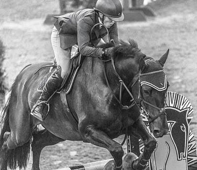 Canter Photograph - The Jumpers by Betsy Knapp