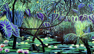 Painting - The Jungle by Geoff Greene
