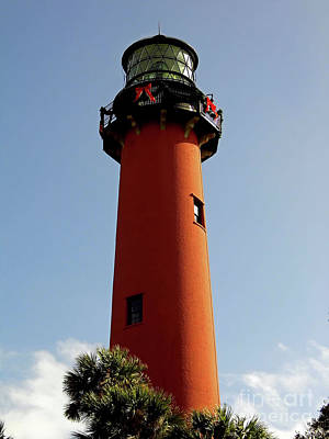 Photograph - The Jupiter Lighthouse by D Hackett
