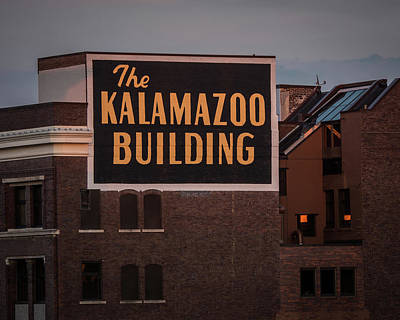 The Kalamazoo Building Art Print
