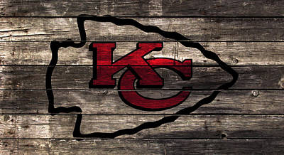The Kansas City Chiefs W1 Art Print