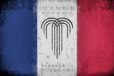 Digital Art - The Kansas City Flag by JC Findley