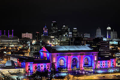 Photograph - The Kansas City Skyline by JC Findley