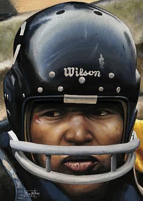 Gale Sayers Painting - The Kansas Comet by Rich Marks