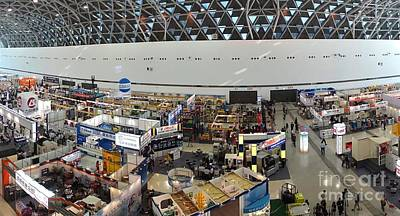 Photograph - The Kaohsiung Industrial Automation Exhibition by Yali Shi