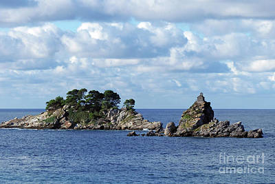 Photograph - The Katic Islands - Petrovac by Phil Banks