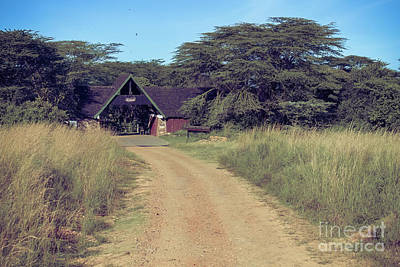 Photograph - The Keekorok Lodge by Cami Photo