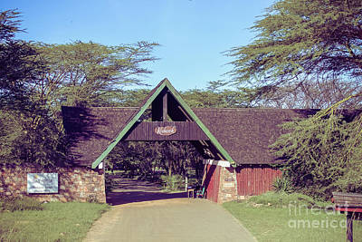 Photograph - The Keekorok Lodge Entrance by Cami Photo