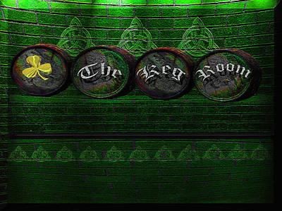 Photograph - The Keg Room Version 7 by LeeAnn McLaneGoetz McLaneGoetzStudioLLCcom