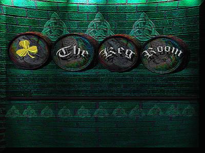 Photograph - The Keg Room Version 8 by LeeAnn McLaneGoetz McLaneGoetzStudioLLCcom