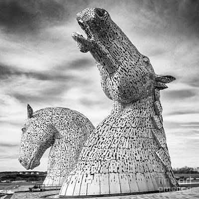Photograph - The Kelpies by Colin and Linda McKie