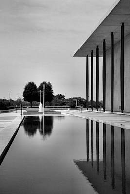 Pool Photograph - The Kennedy Center by Steven Ainsworth