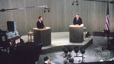 Nixon Photograph - The Kennedy-nixon Debate by The Titanic Project