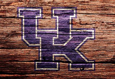 The Kentucky Wildcats 1b Art Print by Brian Reaves