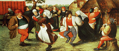 Dance Party Painting - The Kermesse by Pieter Balten