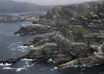 Photograph - The Kerry Cliffs, Ireland by Aleksander Rotner