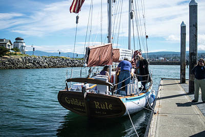 Photograph - The Ketch Golden Rule by Tom Cochran