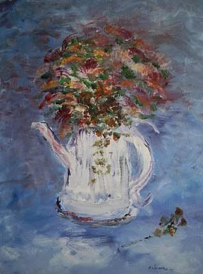 The Kettle Vase Art Print by Edward Wolverton