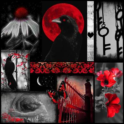 The Key To Red Art Print by Gothicrow Images