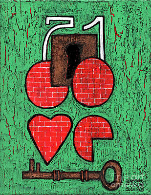 Painting - The Key To Your Heart by Genevieve Esson