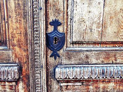 Photograph - The Keyhole Ornament by Erika H