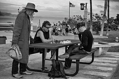 Photograph - The Kibitzer by Vinnie Oakes