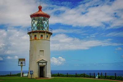 Photograph - The Kilauea Lighthouse by Lynn Bauer