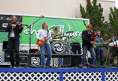 Rock Music Groups Photograph - The Killdares Celtic Rock by Joy Tudor