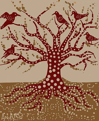Digital Art - The Kind Tree by Anand Swaroop Manchiraju