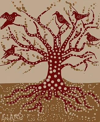 Digital Art - The Kind Tree by Anand Swaroop Manchiraju