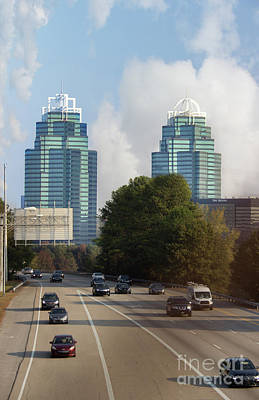 The King And Queen Of Atlanta Art Print by Tom Gari Gallery-Three-Photography