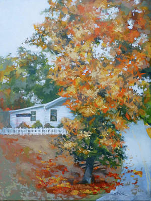 Painting - The King Of King Street by Carol Strickland