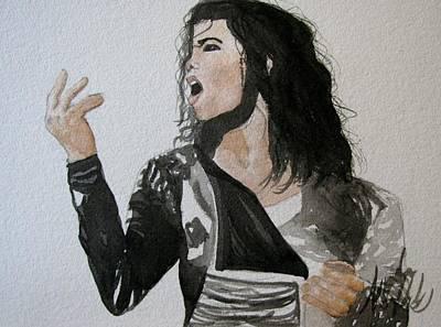 The King Of Pop Original by Amanda Burek