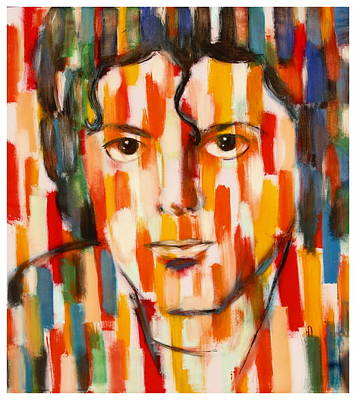 the king of pop Michael Jackson Art Print