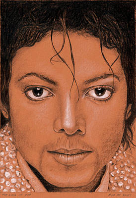 Painting - The King Of Pop by Rob De Vries