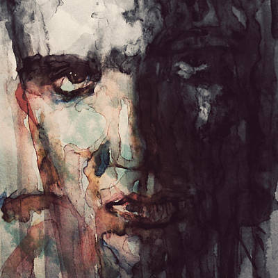 Elvis Presley Painting - The King by Paul Lovering