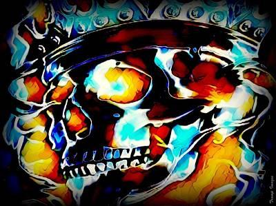 Digital Art - The King by Wesley Nesbitt