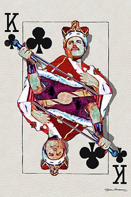 Digital Art - The Kings - Freddie Mercury  by Serge Averbukh