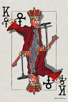 Digital Art - The Kings - Prince by Serge Averbukh