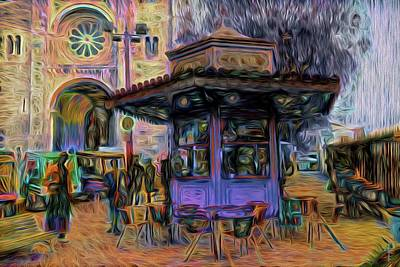 The Kiosk - Pastel Tones  Original