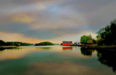 Photograph - The Kirby Mill by Diana Angstadt