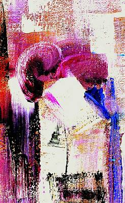 Painting - The Kiss - Dedicated by VIVA Anderson