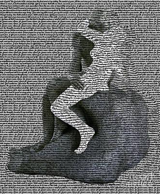 Digital Art - The Kiss by Fei Alexander