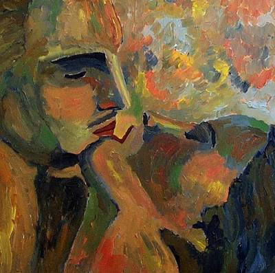 Painting - The Kiss by Mats Eriksson