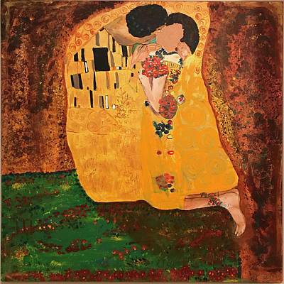Painting - The Kiss-of You.  by Dottie Phelps Visker