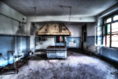 Photograph - The Kitchen - La Cucina by Enrico Pelos
