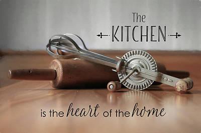 Photograph - The Kitchen by Lori Deiter