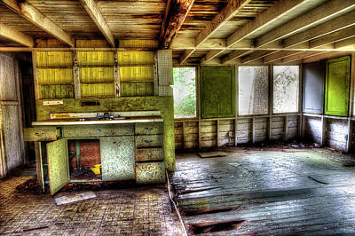 Photograph - The Kitchen by Mike Eingle